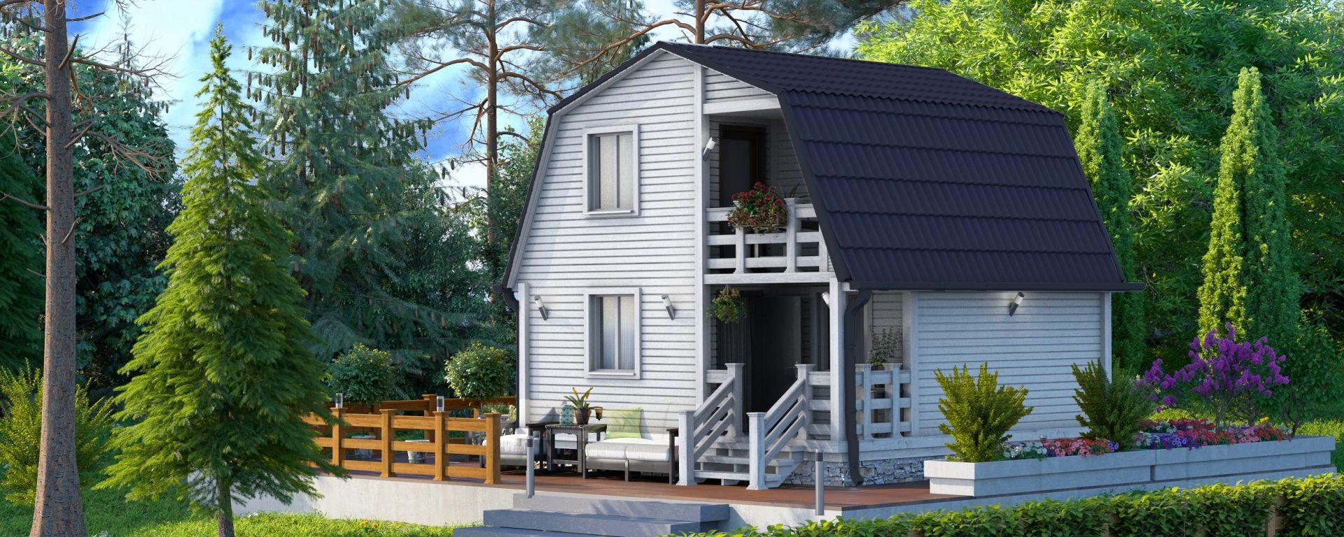 Дом в кредит под ключ с ценами